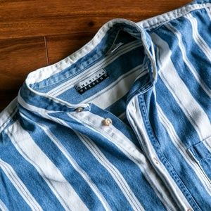 Vintage American Weekend Button Up Retro Shirt